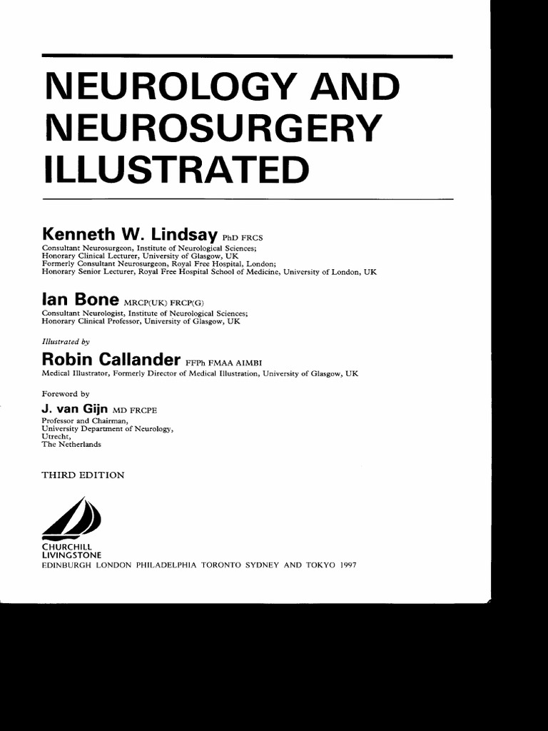 Neurology and neurosurgery illustrated 3rd ed k lindsay et al wwpdf fandeluxe Images