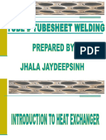Tube to Tube Sheet