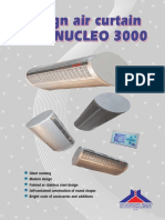 20350 Perdele de Aer Electrice Nucleo 3000 Pliant