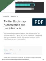 Twitter Bootstrap_ Aumentando Sua Produtividade
