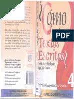 Como Producir Textos Escritos