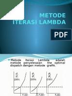 Metode Iterasi Lambda_1