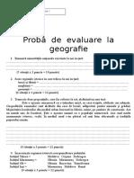 Test Geografie