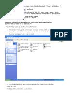 02 CDR Printer Settings