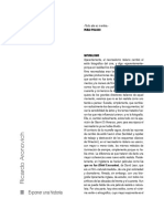 Aronovich, Ricardo - Exponer una historia (fragmento).pdf