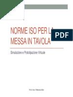 4b Normativa Per La Messa in Tavola