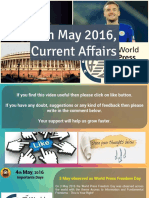 4 May 2016 Current Affair for Competition Exams