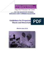 Guidelines Thesis CGSRC CUCMS