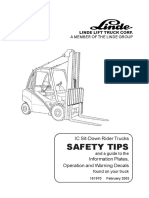 Linde Operator Manual (3538043001) 353-02D H50 through H80-900 0303-US [353_02_0702gb]