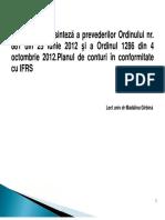 Reglementari Conforme Cu IFRS