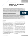 Engine State Monitoring and Fault Diagnosis of Large Marine Engines