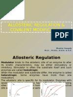 Allosteric Regulation & Covalent Modification