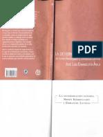 2011. La Determinación Externa. Søren Kierkegaard y Emmanuel Levinas. Índice