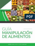 ASN Consultora - Guía Manipulación de Alimentos