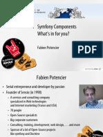 Symfony Components Ipc 2009