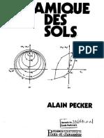Dynamique Des Sols Pecker PDF