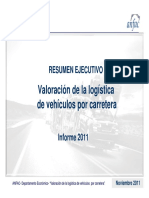 Resumen Informe Carretera 2011