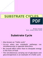 Substrate Cycle