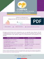 Subsidios Complementario y Documentos
