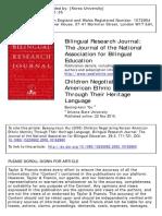 Byeong-keun You. Children Negotiating Korean American Ethnic Identity Through Their Heritage Language