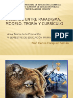 Deslinde Entre Paradigma, Modelo, Teoría - Copia