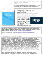 Hye-Young Jo. Heritage Language Learning and Ethnic Identity