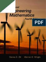 Eng 3022, Advanced Eng Math - Zill - 4 Ed