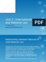 Unit 3 International Law and National Law