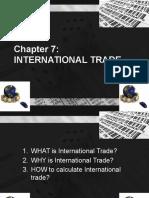 MALAYSIAN ECONOMY -  International Trade