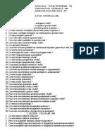 Intrebări Pentru Examen Proba Test Med I 2014 2015