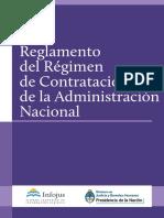 Reglamento Del Regimen de Contrataciones de La Administracion Publica Nacional (Arg)