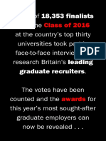 The Times Graduate Top 100