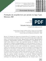 Previattelli & Santos Silva 2011 Predacao Zooplancton Peixes