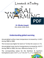 Role of Livestock & Poultry in Global Warming