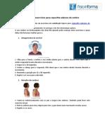 Plano de Exercícios Para Capsulite Adesiva Do Ombro
