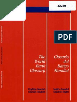 World Bank Glossary Accrual Loans