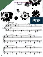 Children Piano Collection No. 9 No.12a Bw