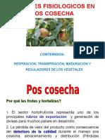 i Factores Fisiologicos en Pos Cosecha