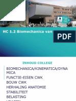 HC 1.2 Biomechanica