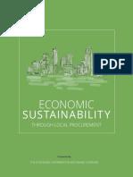 Economic Sustainability Through Local Procurement