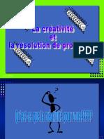Créativité Et La Résolution de Problèmes