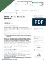 OBIEE – Noções Básicas Da Aplicação _ Carina Mendes