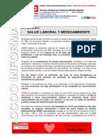 2016 05 04 COMUNICADO Salud Laboral y Medio Ambiente