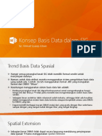 07 - Konsep Basis Data Dalam SIG