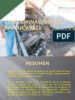 Contaminación Del Rio Ucayali