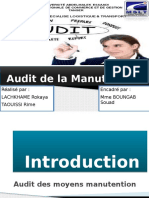 Audit de Manutention