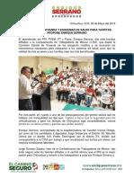 2016-05-03 Créditos Para Vivienda y Esquemas de Salud Para Taxistas, Propone Enrique Serrano en La Ctm