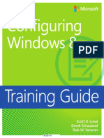 Configuring Win8 Training Guide