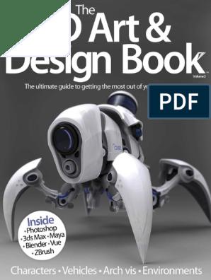 The 3D Art & Design Book Volume 2 - 2014 UK | Rendering