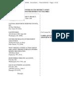 2016 05 04 RCRA OG Wastes Deadline Suit Complaint FILED